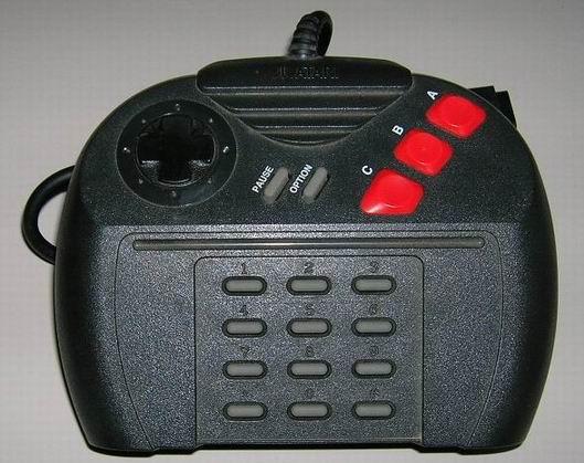 The Atari Jaguar controller.